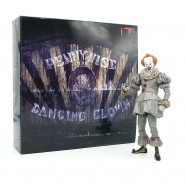 Action Figure PENNYWISE Version DANCING CLOWN from movie IT 2017 Clown ULTIMATE Version NECA Original
