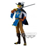 SANJI Figure Statue 22cm ONE PIECE TREASURE CRUISE World Journey Vol.2 Musketeer BANPRESTO