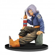 DRAGONBALL Figure Statue Future TRUNKS NORMAL Sitting 13cm Banpresto WORLD COLOSSEUM Figure BWCF 8