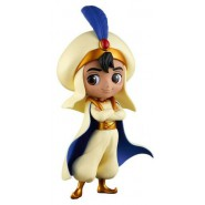Figure Statue 14cm ALADDIN Yellow Dress QPOSKET Banpresto DISNEY Characters Prince Style Version A