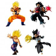DRAGONBALL SUPER Complete Set 4 FIGURES Versus Battle Figure SERIES 11 Bandai Gashapon