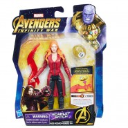 Action Figure SCARLET WITCH 14cm Infinity Stone Marvel Original HASBRO E1419 Hero Vision