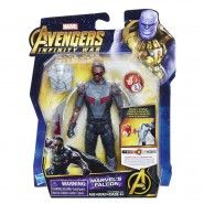 Action Figure MARVEL'S FALCON 14cm Infinity Stone Marvel Original HASBRO E1417 Hero Vision