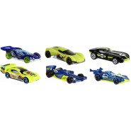 VALENTINO ROSSI Set 6 Different Models CARS Scale 1:64 VR46 MATTEL Hot Wheels DIE CAST