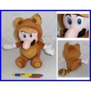 Plush MARIO raccoon 30cm Squirrel SUPER MARIO BROS