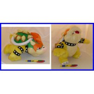 Plush BOWSER 30cm SUPER MARIO BROS KART GALAXY WII