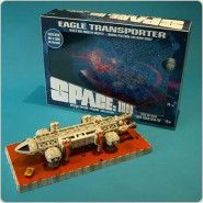 SPAZIO 1999 EAGLE TRANSPORTER 30cm Die Cast SPECIAL Edition Episode NEW ADAM NEW EVE Limited Numbered Edition