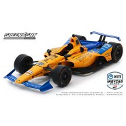 Model Car FERNANDO ALONSO Indycar 1/18 27cm Original Greenlight Adult Collectible