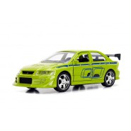 FAST and FURIOUS Model Brain's MITSUBISHI LANCER EVOLUTION VII 1/32 13cm Collector's Series Original JADA Toys