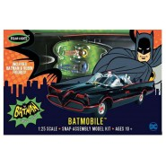 BATMAN Model SNAP Kit 1966 BATMOBILE with 2 Figures Scale 1:25 20cm POLAR LIGHTS