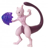 POKEMON Action Figure MEWTWO Mewtu 10cm Battle Figure - Original WCT
