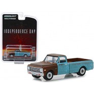 Model 1971 CHEVROLET C-10 From INDEPENDENCE DAY 6cm Scale 1/64 DieCast Greenlight