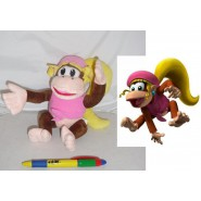 Plush Soft Toy DIXIE KONG Female 20cm SUPER MARIO Bros Kart Land