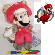 Plush Soft Toy MARIO FLYING SQUIRREL 20cm Super Mario Kart Bros Land WII