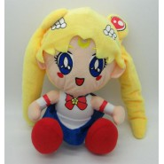 SAILOR MOON Verion SITTIN Plush Soft Toy 26cm