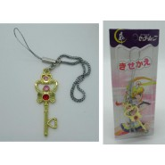 Sailor Moon KEYRING DANGLER with KEY OF THE TIME Version With WHITE BLISTER