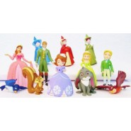 SET 12 FIGURES Collection Characters SOFIA THE FIRST Cartoon