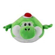 Plush Peluche Soft Toy INFLATED YOSHI Turtled 25cm SUPER MARIO Bros Kart Land Wii