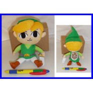 Plush Soft Toy LINK ZELDA 18cm