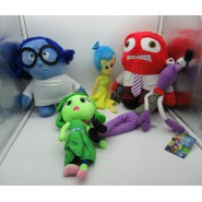 INSIDE OUT Complete SET 5 PLUSHIES 30cm BIG Feelings Joy Sadness Anger Fear Disgust