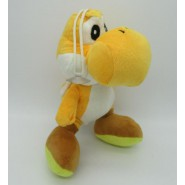 Plush Peluche Soft Toy YELLOW YOSHI Dragon 20cm With Suction Cup SUPER MARIO Bros Kart Land Wii