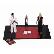BOX Diorama 2 Figures Action THE KARATE KID Johnny VS Daniel NECA Original