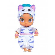 Doll of SHINE Blue Hair Dressed as a Tiger from Shimmer and Shine 17cm (6.6 inches) Original NICKELODEON Official JAKKS Pacific