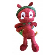 Plush Soft Toy SOLDIER ANT from cartoon MAYA THE BEE Maia Maja 20cm ORIGINAL