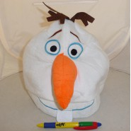Plush HAT Beanie OLAF SnowMan FROZEN JAPAN COSPLAY