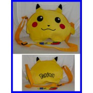 PIKACHU Pokemon Plush Bag 30x22cm COSPLAY