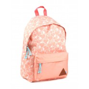 School Backpack SNOOPY Dog Color PEACH Big 42x36cm ORIGINAL Peanuts