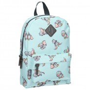 School Backpack DUMBO Light Blue Elephant 30x25cm ORIGINAL Disney