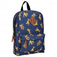 School Backpack LION KING Blue Simba 30x25cm ORIGINAL Disney