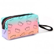 PUSHEEN Cat PENCIL CASE School 22x12cm Original Purrfect