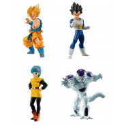DRAGONBALL SUPER Complete Set 4 FIGURES Freeza Friza ARC High Grade HG 03 Bandai Gashapon
