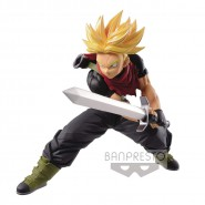 DRAGONBALL Figure Statue TRUNKS With Sword 14cm Banpresto SUPER DRAGONBALL HEROES
