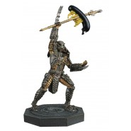 SCAR PREDATOR Rare Figure Metallic Resin from Predator 15cm Scale 1/16 Serie Eaglemoss HERO Collector Num 2