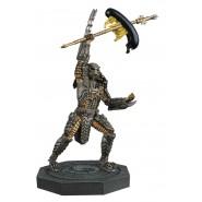 SCAR PREDATOR Rare Figure Metallic Resin from Predator 15cm Scale 1/16 Serie Eaglemoss HERO Collector Num 2
