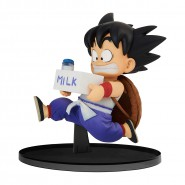 DRAGON BALL Figure Statue SON GOKOU Kid Young With Milk 11cm COLOR Version BWFC Vol. 7 Banpresto Dragon Ball