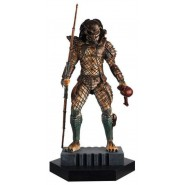 HUNTER PREDATOR Figure Metallic Resin 15cm from PREDATOR 2 Scale 1/16 Eaglemoss HERO Collector Num 13