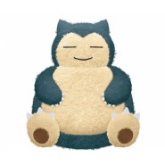 Plush SNORLAX 27cm Soft POKEMON Peluche Original OFFICIAL BANPRESTO
