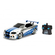 BRIAN 's SKYLINE GT-R Car Model R/C Radiocontrolled FAST AND FURIOUS Scale 1/16 29cm Original JADA TOYS
