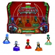 GORMITI Blister Box 5 Figures 5cm HEROES Herald PACK Seconda Version ORIGINAL Giochi Preziosi