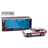 A-TEAM DieCast Model Car 23cm CHEVROLET CORVETTE C4 1984 Scale 1/18 ORIGINAL Greenlight
