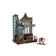 SPIDER MAN Playset Scene Diorama 14cm DAILY BUGLE with Figures Nano Metalfigs Original JADA Toys NANO Metalfigs