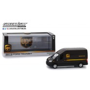 UPS DELIVERY Van FORD TRANSIT 2018 Model 13cm DieCast 1/43 ORIGINAL Greenlight Delivery Carrier Usps United Parcel