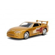 FAST and FURIOUS Model SLAP JACK 's GOLDEN TOYOTA SUPRA Scale 1/32 Original JADA