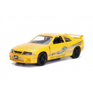 FAST and FURIOUS Model LEON 's Yellow NISSAN SKYLINE GT-R BCNR33 Scale 1/32 Original JADA