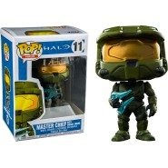 HALO Figure 10cm MASTER CHIEF with ENERGY SWORD Original POP Funko Halo 11