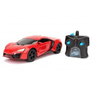 LYKAN HYPERSPORT Car Model BIG 28cm R/C Radiocontrolled FAST AND FURIOUS Scale 1/16 Original JADA TOYS